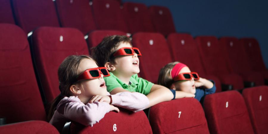 Children at Cinema