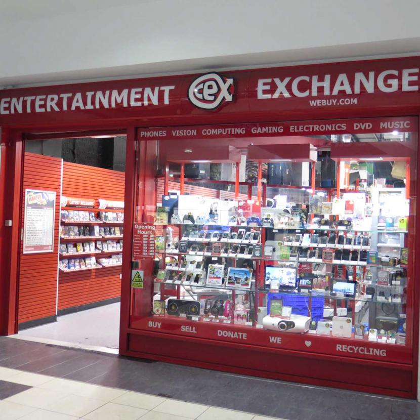CEX Shop Front