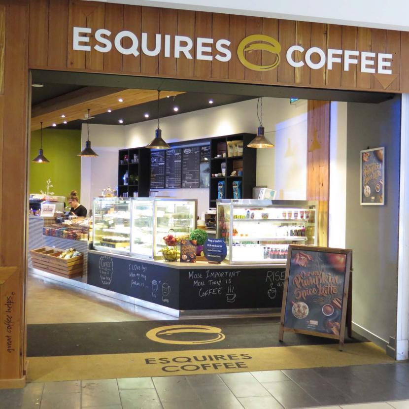 Esquires Coffee Shop Front