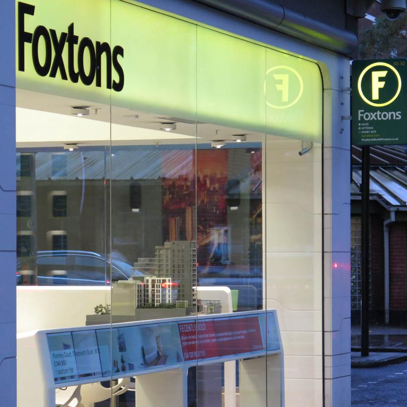 Foxtons Shop Front