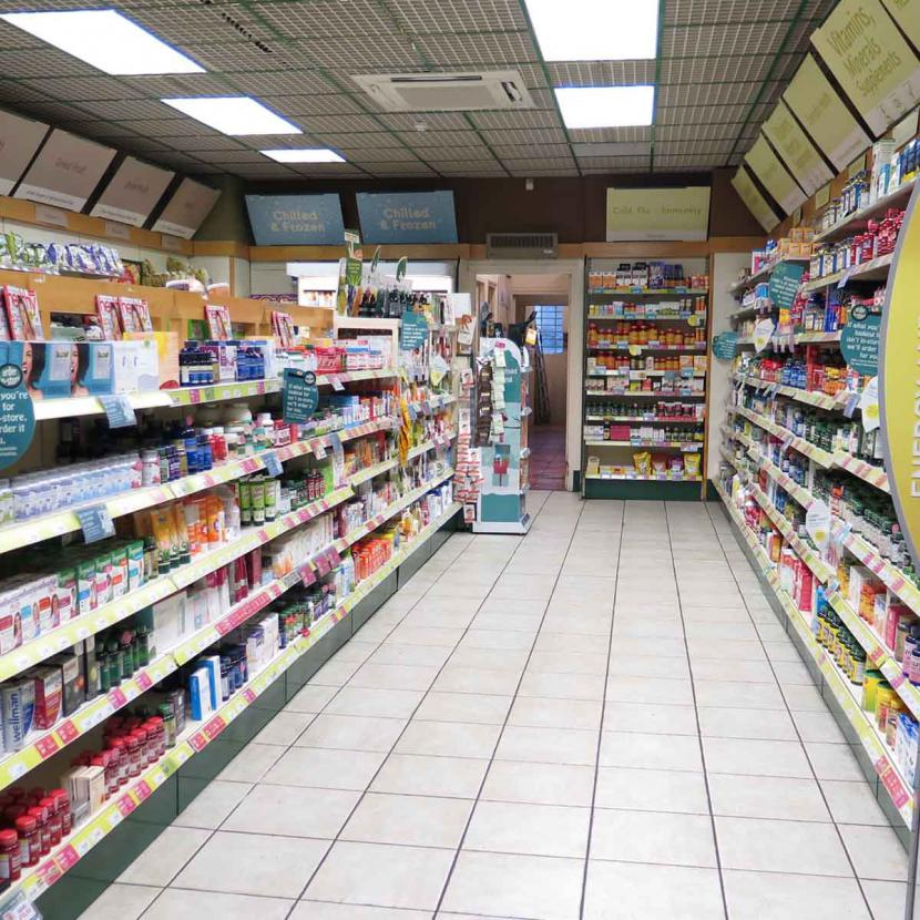Holland and Barrett Interior