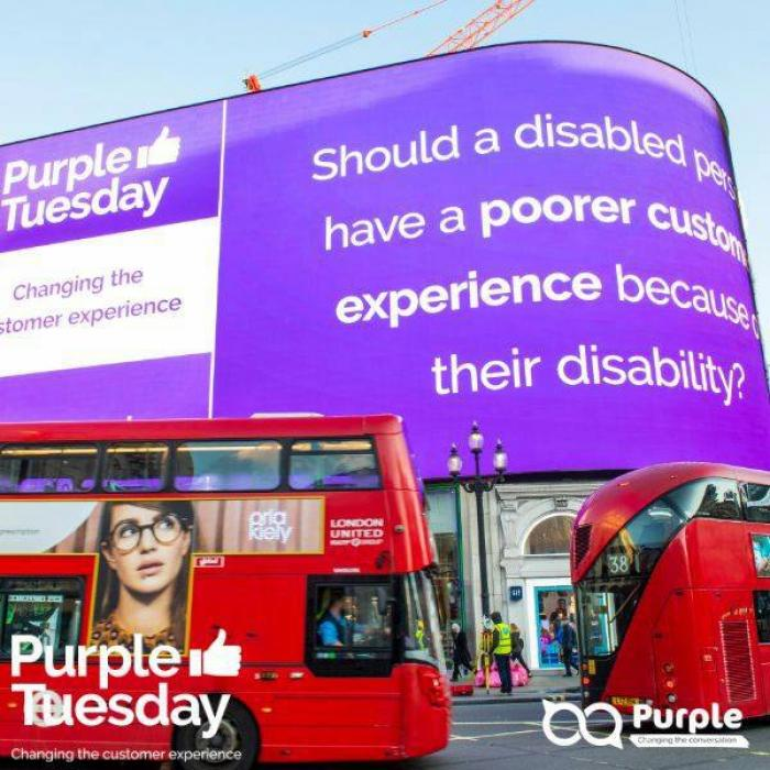We're taking part in Purple Tuesday on 3rd November