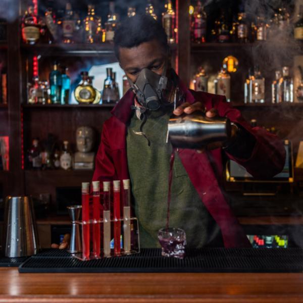 The Mind Palace, Sherlock speakeasy bar